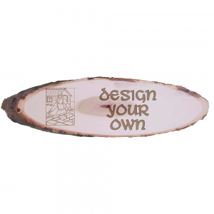 Personalised Design Your Own x-Large Rustic Wooden Plaque